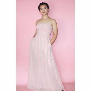 (539) Weddington Way Blush Pink Maxi Dress